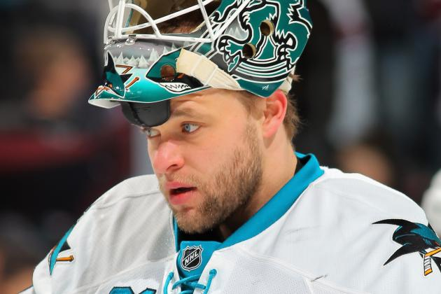Niemi Pulld After Allows 3 Goals vs. Avs