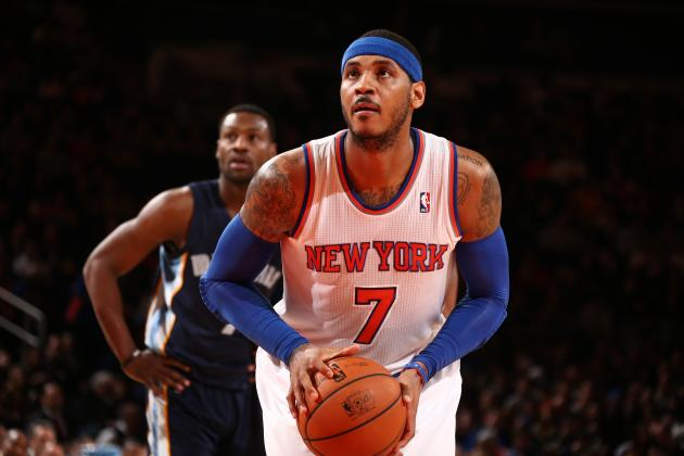 NBA Rumors: Latest Trade Info on Carmelo Anthony, Andrew Bynum and More