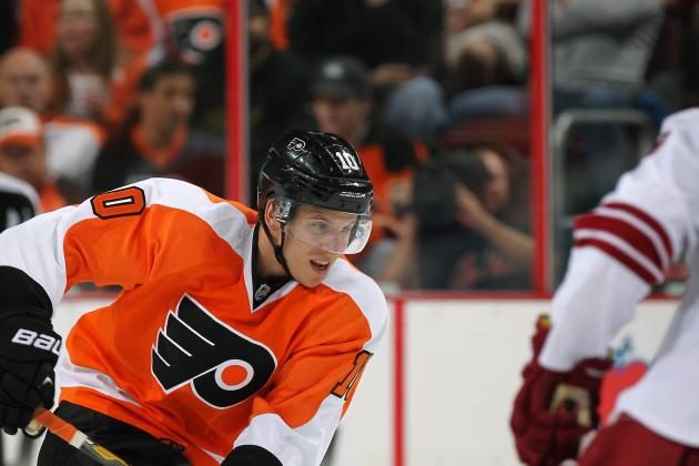 Flyers vs. Coyotes -- Live Score and Stats