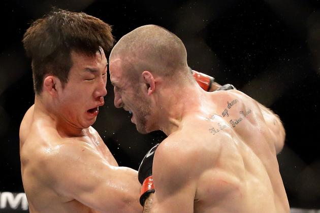 UFC Fight Night 34: Hyun Gyu Lim Considered Quitting After 4th Round