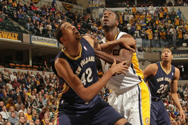 Alexis Ajinca Dunks Right on Roy Hibbert