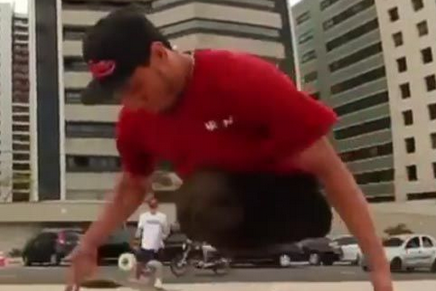 Video: Legless Skateboarder Shreds in Mixtape