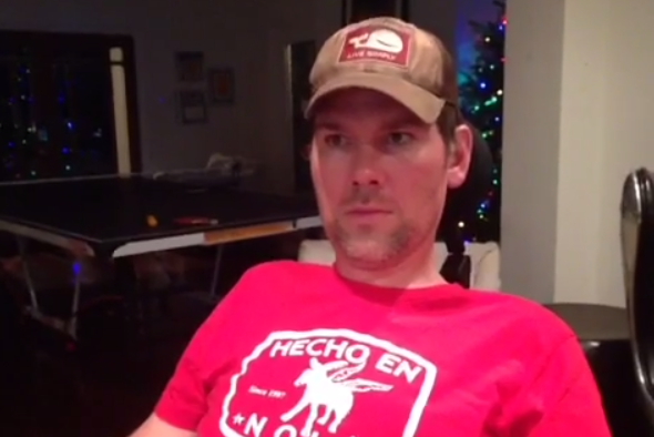 ALS Patient Steve Gleason Live-Tweets Saints-Eagles Playoff Game with His Eyes