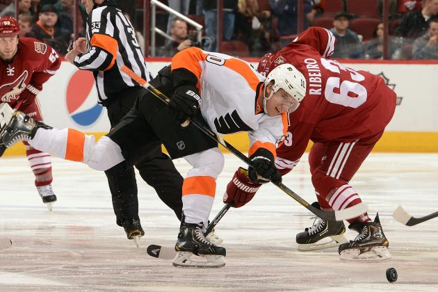 Flyers Rally for 5-3 Victory over Coyotes