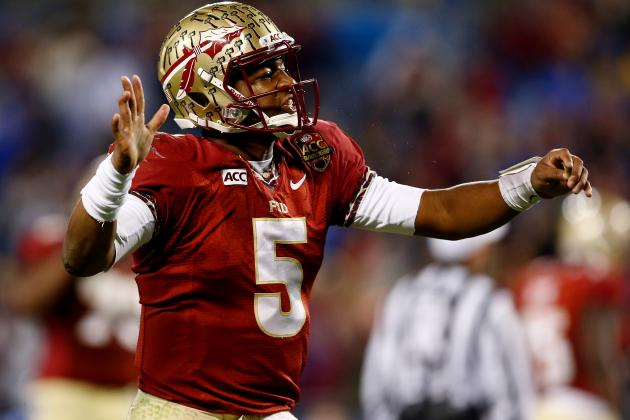 Jameis Winston Will Lead Florida State to BCS Title vs. Auburn