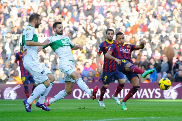 Alexis Sanchez Scores Hat-Trick for Barcelona vs. Elche