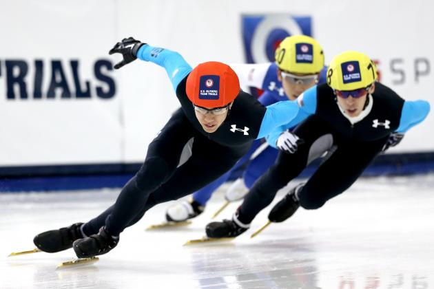 2014 US Olympic Trials Speedskating Results: Short-Track Points Leaderboard