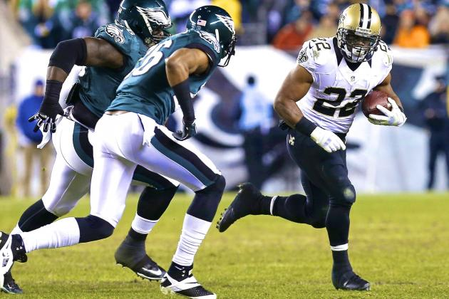 Saints Upend Eagles, Discover Running Game Just in Time to Take on Seahawks
