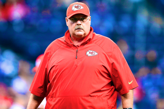 Andy Reid, Chiefs Have Absolutely No Excuse for Blowing Wild Card Game vs. Colts