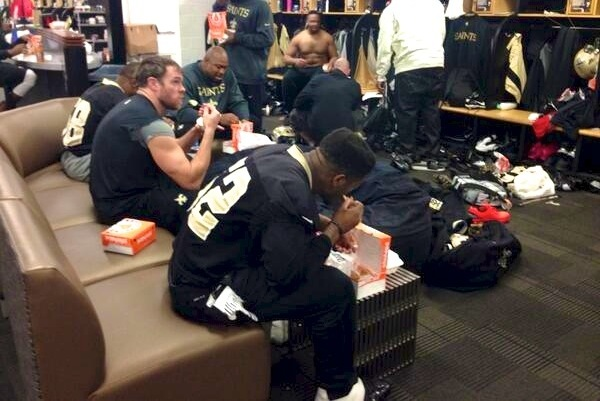 Saints Were Powered by Popeyes Chicken?