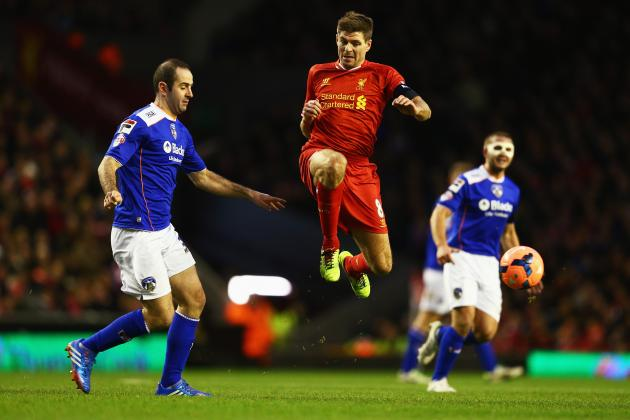 Liverpool vs. Oldham Athletic Score, Grades and Post-Match Reaction