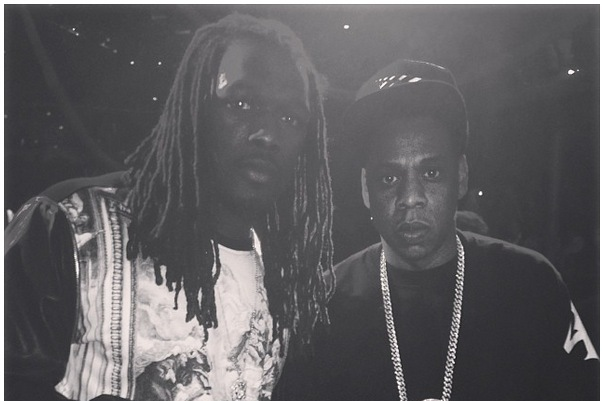 Jadeveon Clowney Hangs out with Jay Z at Charlotte Concert