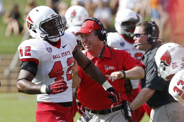 GoDaddy Bowl 2014 Arkansas State vs. Ball State: Live Score and Highlights