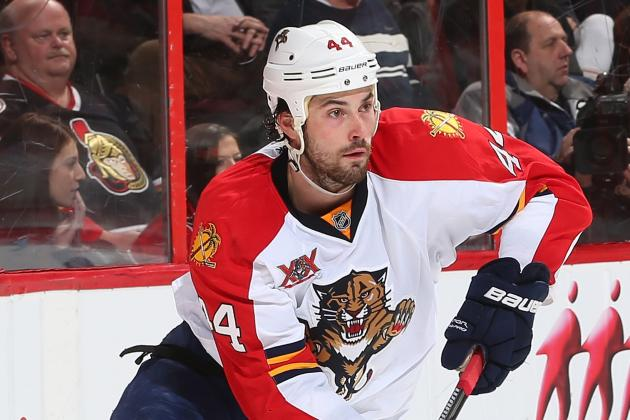 GUDBRANSON RETURNING: Panthers Still Nicked Up
