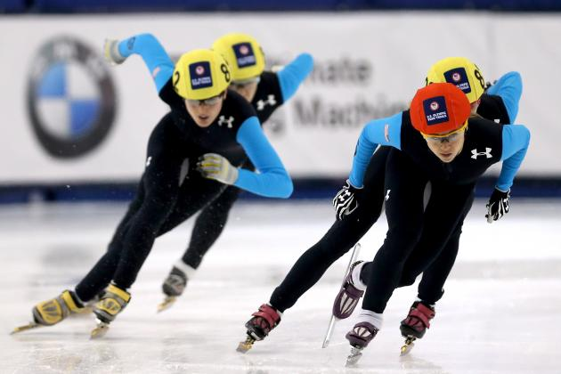 Speed Skating US Olympic Trials 2014: Live Results, Times for 1000m Short Track
