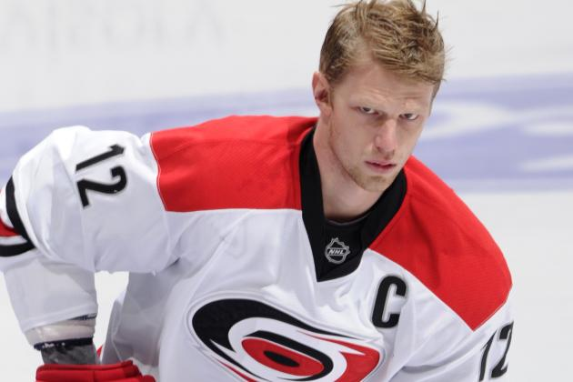 Hurricanes Captain Staal out 5-6 Days