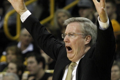 Iowa's Fran McCaffery Ejected After Tirade, Wisconsin Awarded 6 Free Throws