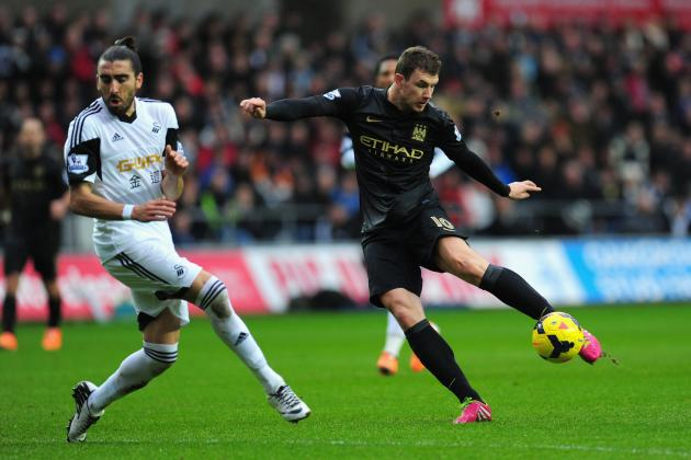 Edin Dzeko Transfer Rumours: Latest News on the Manchester City Star Striker