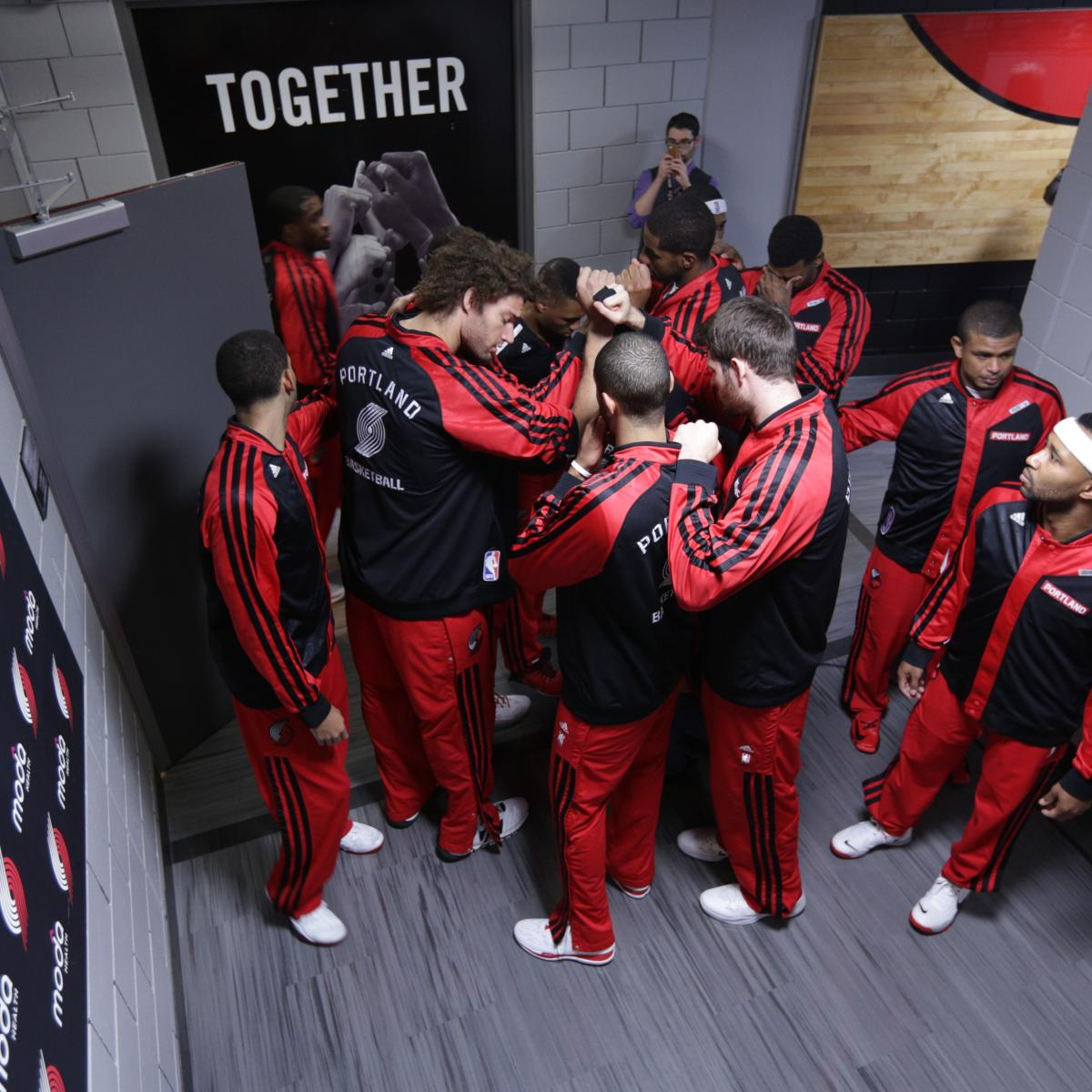 Portland Trail Blazers Coach: Portland Trail Blazers' First Half Player Power Rankings