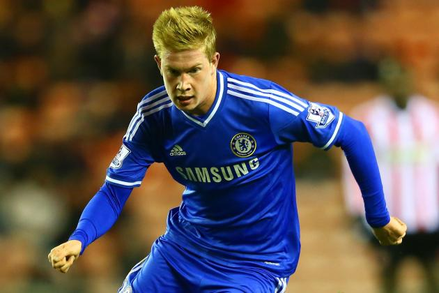 Chelsea Transfer News: Kevin de Bruyne Expected to Join Wolfsburg on Loan