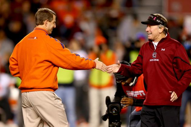 South Carolina vs. Clemson: Debate over Better Season Rages on