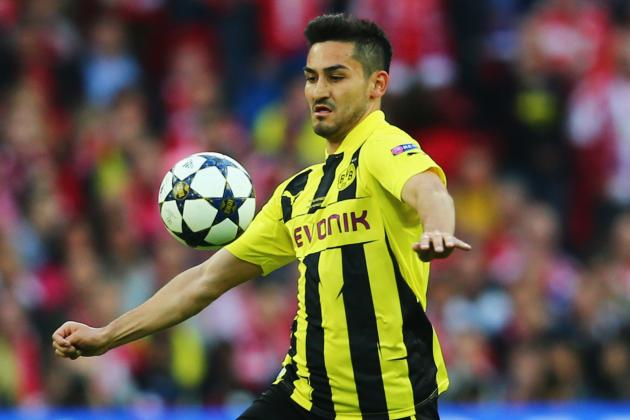 Ilkay Gundogan Dortmund Delays Spark Real Madrid and Manchester United Hope