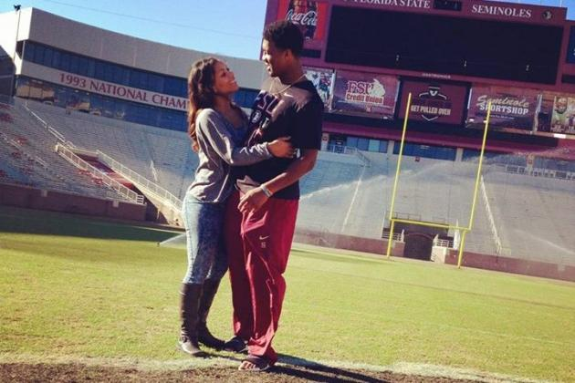 Jameis Winston's Girlfriend Breion Allen 'Anxious' Before 2014 BCS Championship