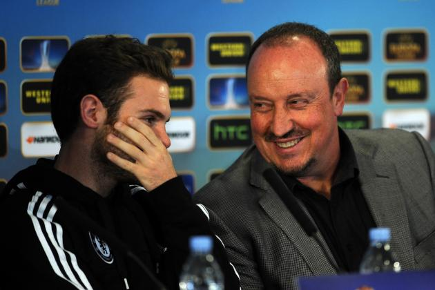 Juan Mata and David Luiz Chelsea Exits Ruled Out by Napoli Boss Rafa Benitez