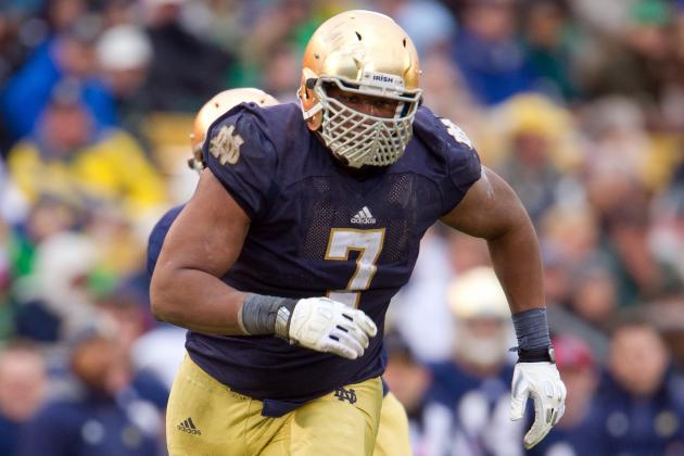 Tuitt Departure Leaves Irish Thin Up Front