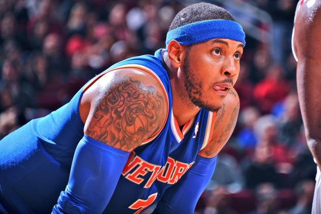 What to Do with Carmelo Anthony? It's Time for the Knicks to Bite the Bullet