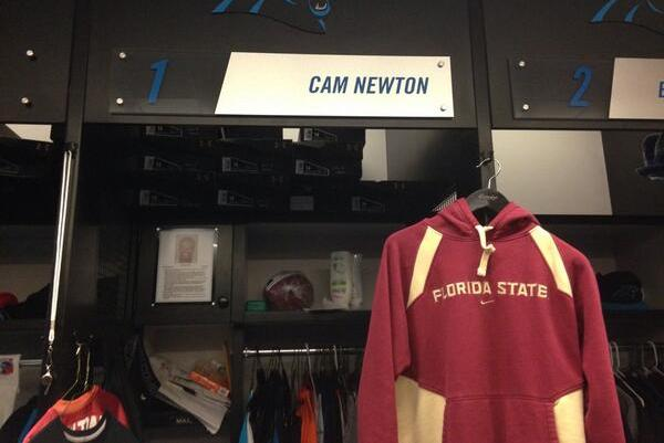 Cam's Rooting for FSU over Auburn?!