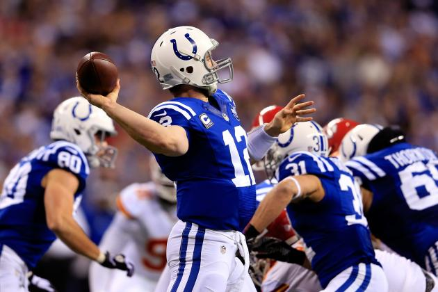 Andrew Luck and Indianapolis Colts Show They're Up for Any Challenge