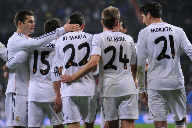 Real Madrid vs. Celta Vigo: Live Player Ratings for Los Blancos