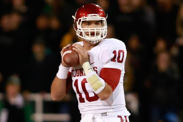Bob Stoops Noncommittal on Blake Bell's Future with Sooners