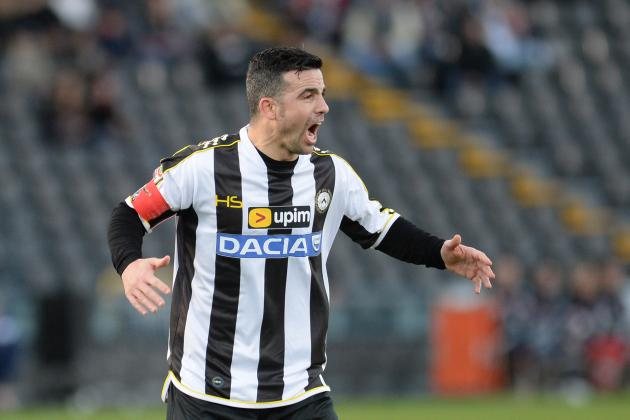 Antonio Di Natale Announces Decision to Retire Following Serie A Season