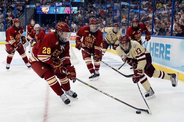 Gaudreau Paces Boston College in 4-3 Frozen Fenway Win