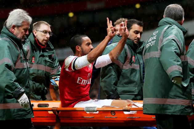 Tottenham Supporters Revel in Theo Walcott's Injury