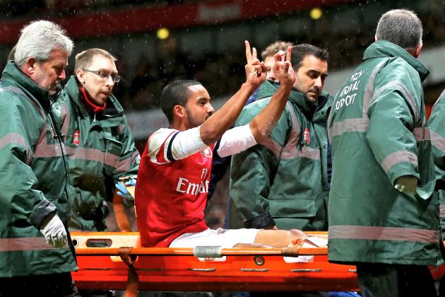Theo Walcott ACL Injury: Short- & Long-Term Consequences for Arsenal & England