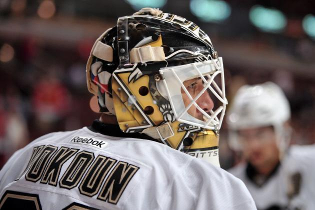Penguins Notebook: Vokoun's Chance to Return Seems Unlikely
