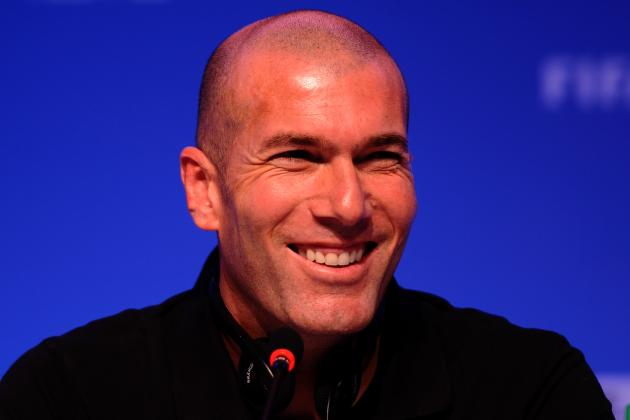 Zidane Relishing Coaching Role at Madrid