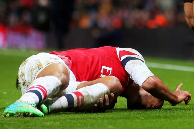 What Theo Walcott's Injury Means for Arsenal and England