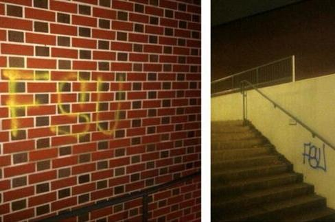 Auburn Campus Tagged with FSU Graffiti Leading Up to BCS Championship Game
