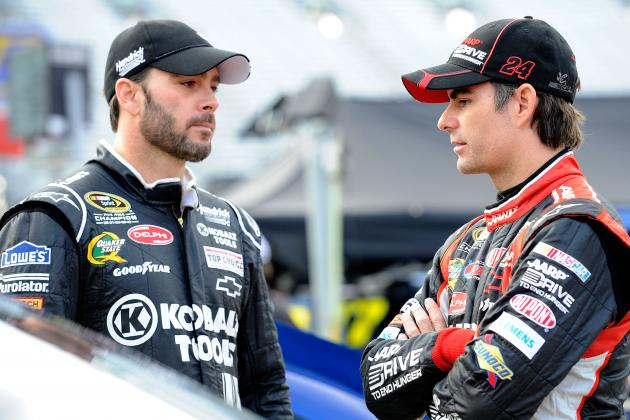 Comparing Jimmie Johnson and Jeff Gordon at Their Peaks