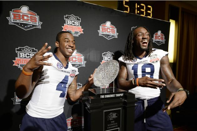 BCS National Championship 2014: Live Game Grades, Analysis for Auburn