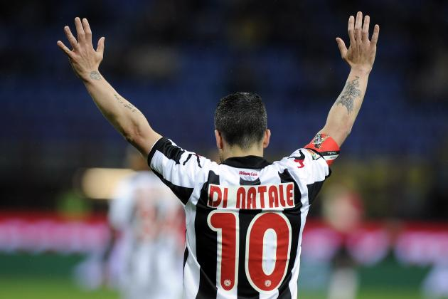 Udinese Captain Antonio Di Natale: A Man to Admire, a Striker to Fear