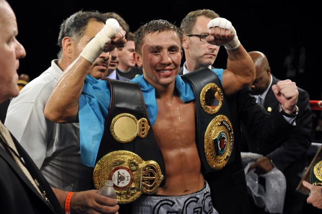 Golovkin Honored with Numerous Year-End Awards
