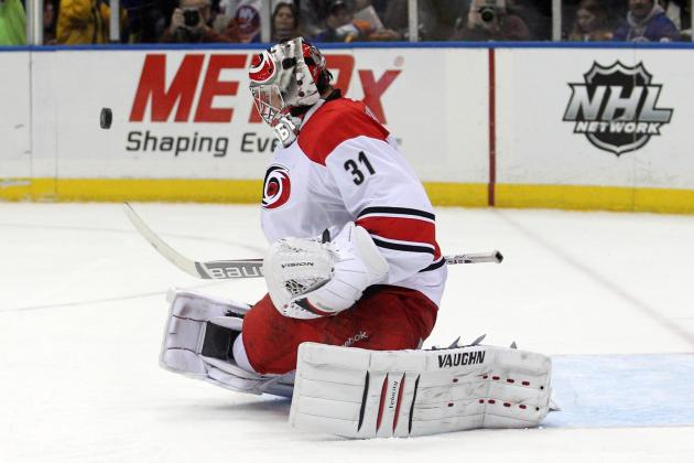 Anton Khudobin Single-Handedly Salvaging Carolina Hurricanes' 2013-14 Season