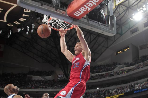 Blake Griffin Finishes Lob with Windmill Dunk