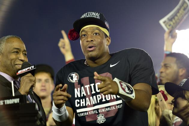 Jameis Winston Named MVP of 2014 BCS National Championship Game