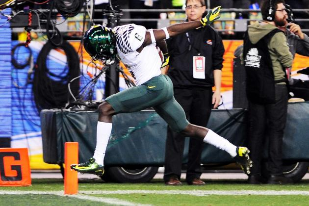 Oregon Loses De'Anthony Thomas to the NFL, but Ifo Ekpre-Olomu to Stay on Campus